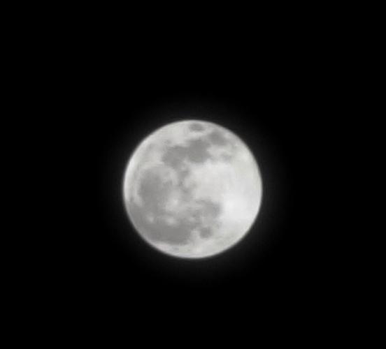 Pre-Eclipse Full Moon - April Full Moon - Blood Moon Prequel