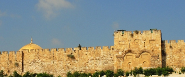 Golden Gate - Eastern Gate - Temple Mount - Dome of the Rock - Triumphal Entry - Palm Sunday