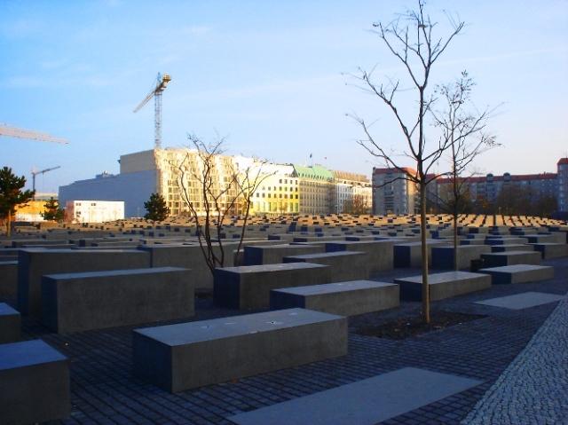 Denkmal für die ermordeten Juden Europas or Memorial to the Murdered Jews of Europe - Berlin Holocaust Memorial - Yom HaShoa