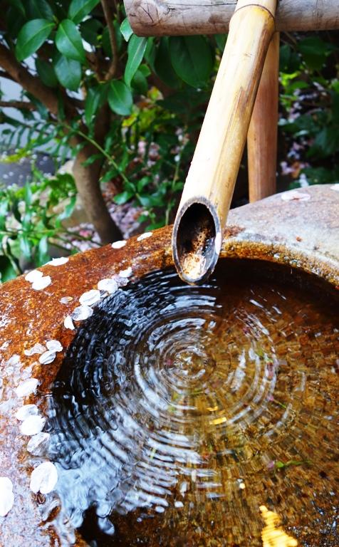 Water Drop Ripples - Japanese Bamboo Water Fountain - Drip Fountain - Water Drop - Ripples