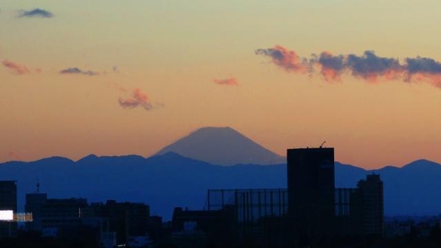Fuji-san - Mount Fuji - Sunset - Tokyo