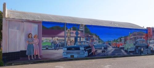 Cruising Manteca, Mural, Manteca, California, D.S. Gordon