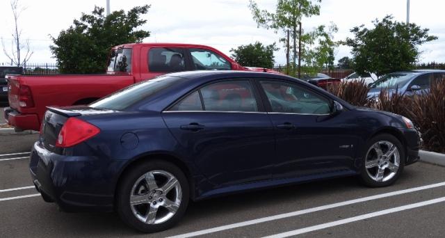 Old Blue - Pontiac G6 GXP - 100000 miles