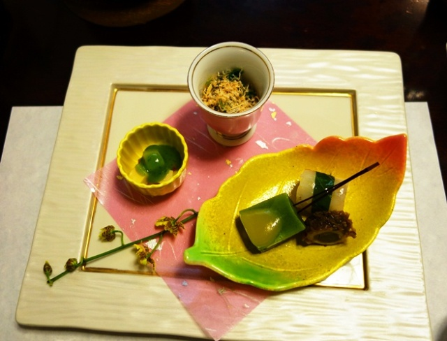 Starter at Shabu-Shabu - Japanese Cuisine - Beautiful plating - Eat with your eyes
