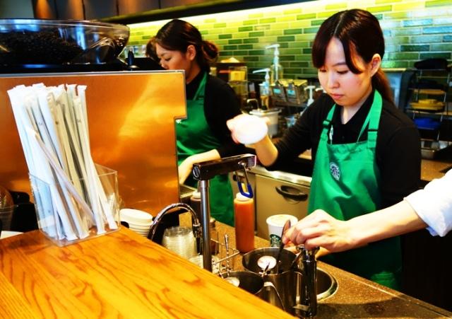 Caramel Macchiato - Starbucks in Japan - Tokyo Starbucks - Coffee Shop