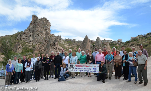 Ancient Crossroads Tour - Ferrell Jenkins - Tour Group Photo