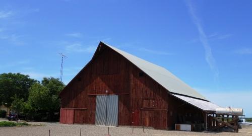 Old Barn - Patterson, California - Orchard Barn - California Barns