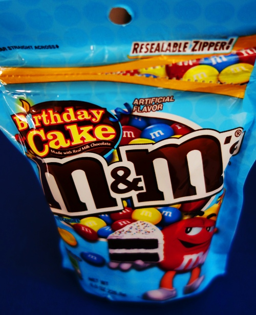 Birthday Cake M&M's, M&M flavors, Birthday Time