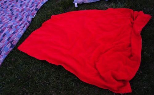 Red Towel, Red Tablecloth, Red Blanket, Memories