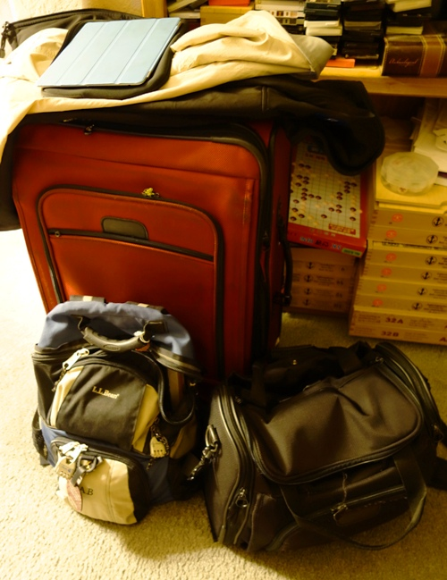 Luggage - Suitcase - Backpack - Overnight Bag - Vacation Packing
