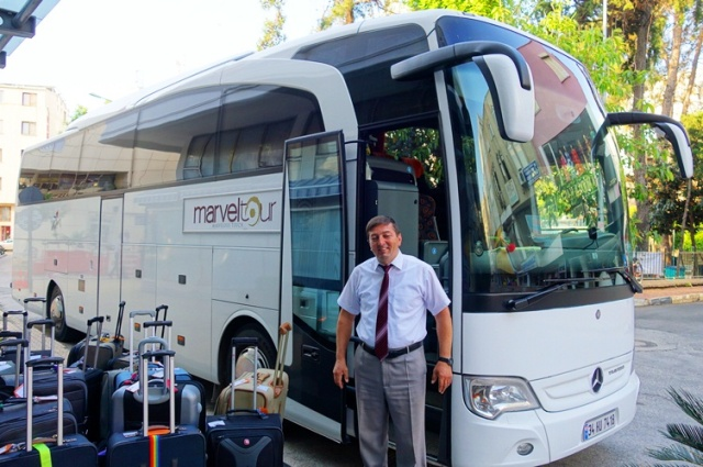 Tour Bus Driver - Antalya, Turkey - Tour Bus