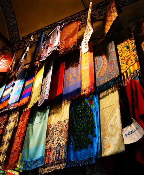 Scarves - Grand Bazaar - Istanbul - Shopping