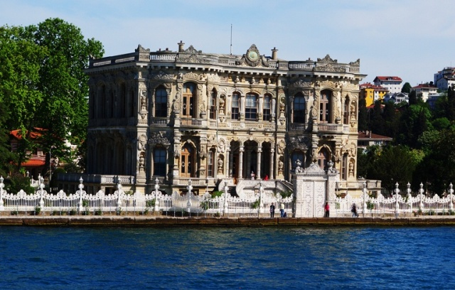 Bosphorus Cruise - Asia - Europe - Bosphorus River - Mansions