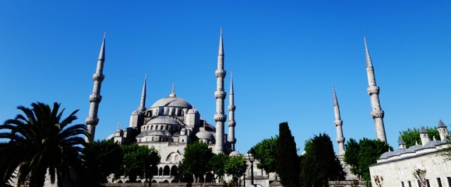 Blue Mosque - Istanbul, Turkey - six minarets - Large Mosque - Turkis History