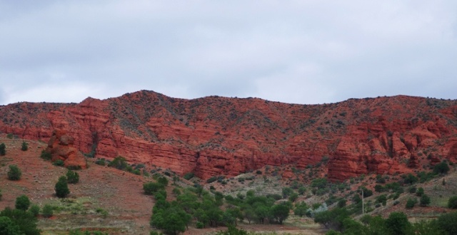 Red Hills of Turkey - Turkish countryside - Red Hills - Trip to Hattusha
