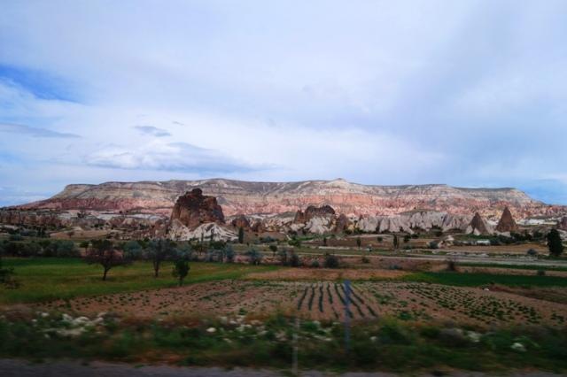 Cappadocia, Turkey, Rock formations, Scenery, Colorful scenery