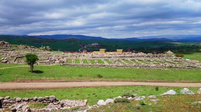 Hattusha Temple Ruins - Reconstructed Gate at Hattusha - Hittite Ruins