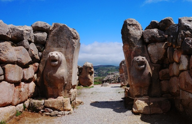 Lion Gate - Hattusha - Ancient Hittite Capital - Ruins of Hattusha