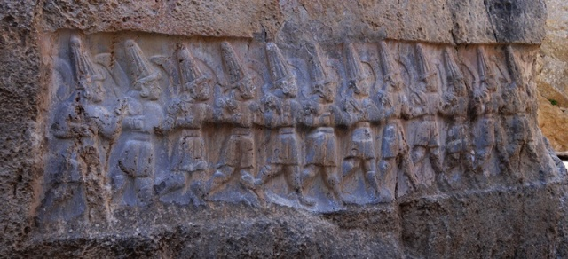 Yazilikaya, Hittite Rock Sanctuary, Rock Art, Worship Center, Hittites, gods of the underworld