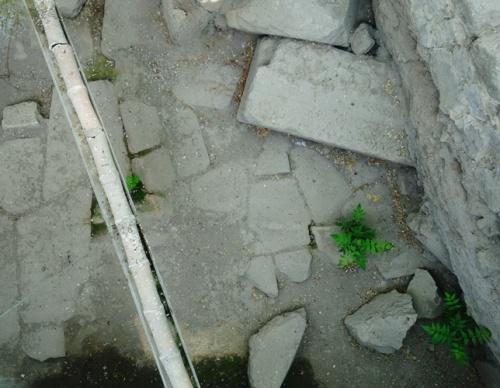 Ankara Roman Road - Ruins of Roman Road - Water Pipe - Ancient find