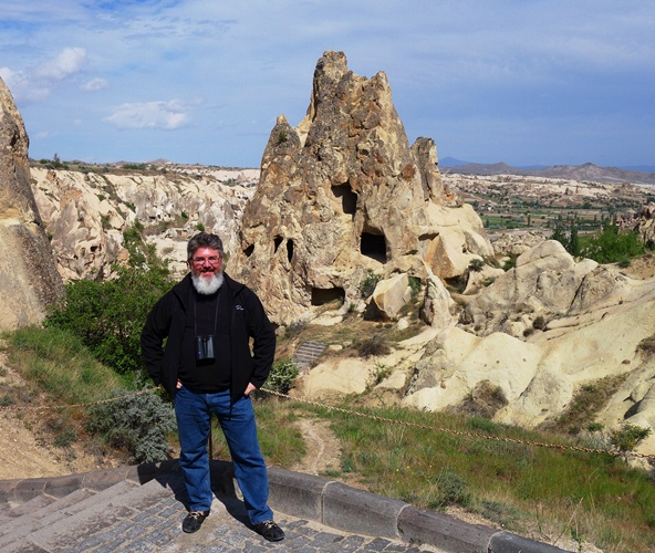 Goreme Open Aire Museum - Rock churches - Cappadocia - Picture of me
