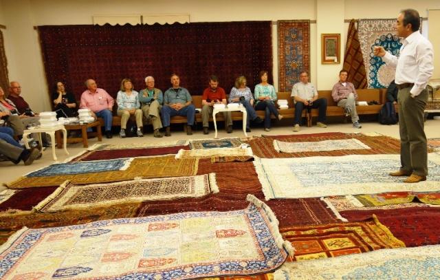 Turkish Carpets - Hand woven carpets - Wool, cotton, silk - Silk production