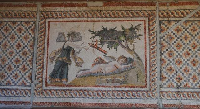 Arkeoloji Muzesi - Erose and Psyche - Mosaic - Saamandag - Antakya