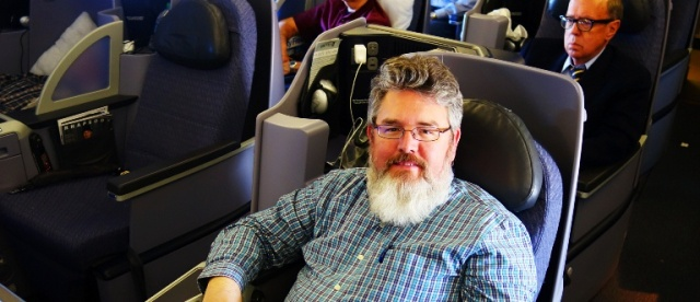 United Business First - Vacation - Trip to Turkey - White Beard