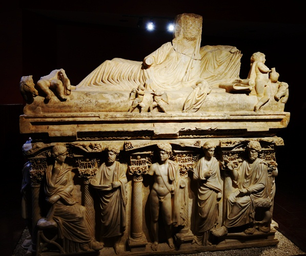 Sarcophagus of Antakya - 3rd Century - Sarcophagus - Antioch of Syria