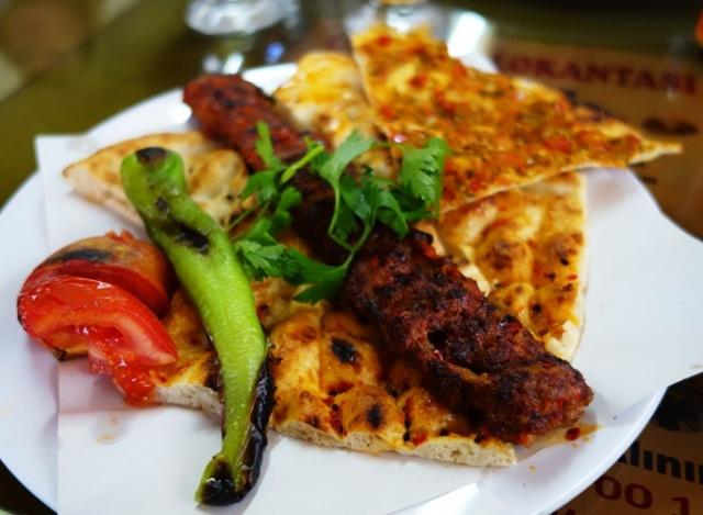 Lunch in Turkey - Lunch in Osmaniye - Spicy Lamb
