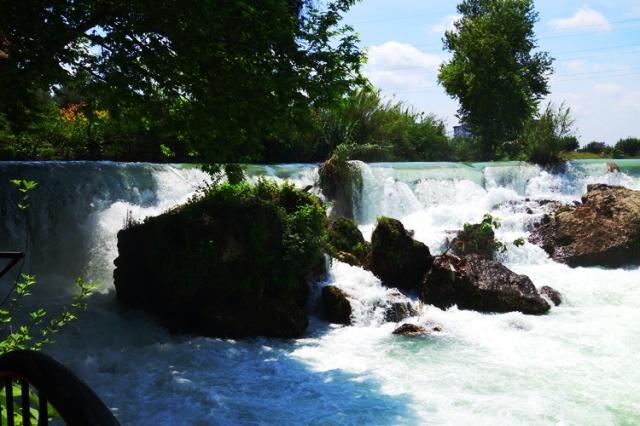 Cydnos River Waterfall, Tarsus, Turkey - Trout - Waterfall