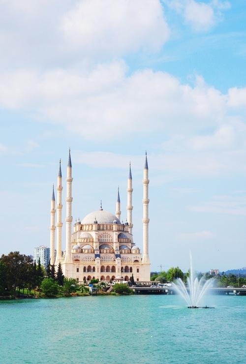 Sabanci Merkez Camii - Adana Mosque - Sabanci Family - Large Mosque