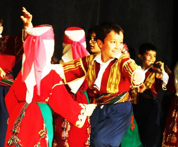 Adana Turkey, Cultural Center - Children Dancing - Native Dance