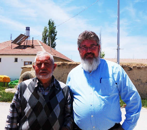 Village near Derbe - Village Elder - Turkis village elder - White Beards