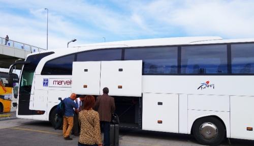 Tour Bus - Ancient Crossroads Tour - Turkey - Ferrell Jenkins - Motor Coach - WiFi on Bus