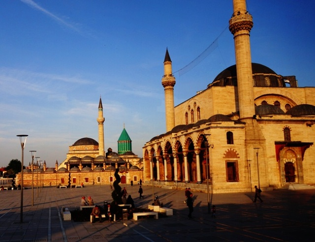 Konya - Whirling Dervishes - Iconium - Mosques