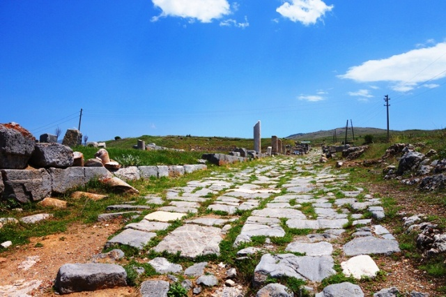 Street in Antioch of Pisidia - Antioch - Paul's Journeys