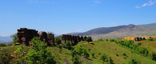Roman Aqueduct - Antioch of Pisidia - Archaeology - Waterworks