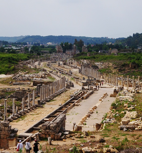 Perge, Turkey - Perge Ruins - Paul's Missionary Journeys - Archaeology