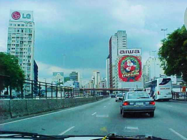 Sao Paulo, Brazil, Highway, World Cup, High Rises