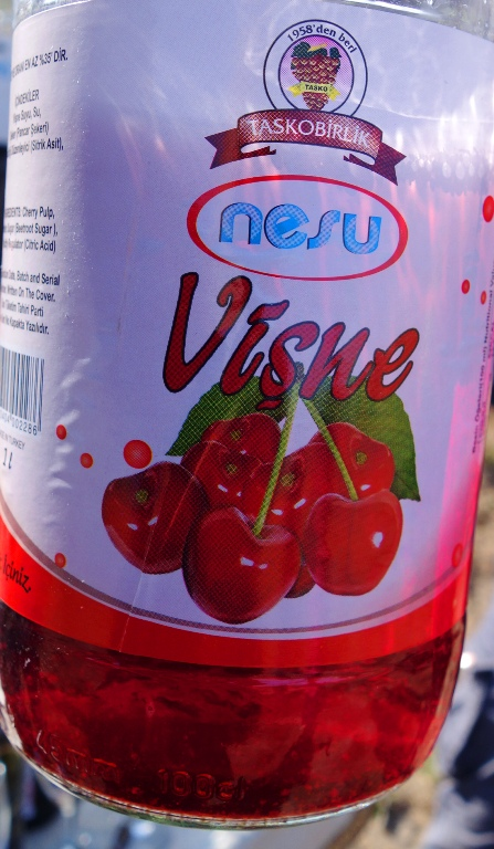 Cherry Juice, Visne Juice, Cappadocia, Tart Cherry Juice, sour cherry juice