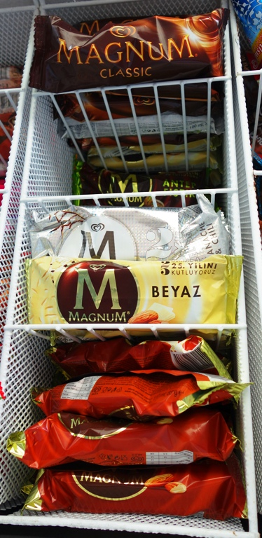Magnum Bars, ice cream, cold treats, Turkey, Israel