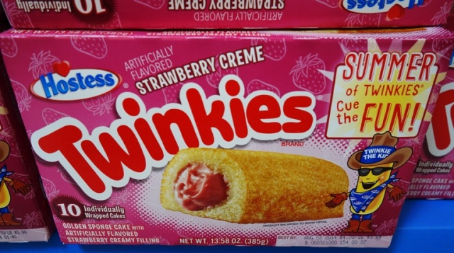 Strawberry Creme Twinkies, Strawberry Twinkies, Twinkies Flavors, New Flavors