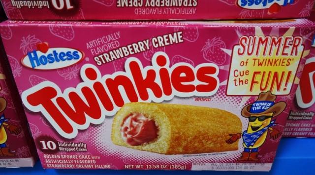 Strawberry Creme Twinkies, Strawberry Twinkies, Twinkies Flavors, New Flavors