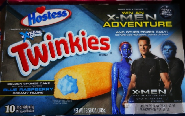 X-Men Twinkies, Blue Raspberry Twinkies, Twinkies Flavors, Twinkies Promotion