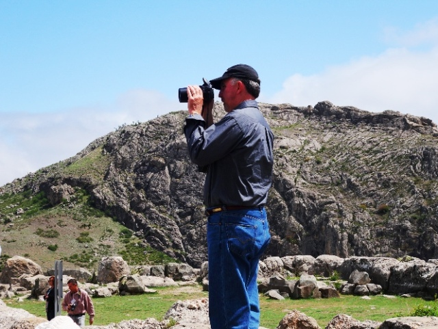 Wayne at Hattusha, Hittite Capital, Archaeology