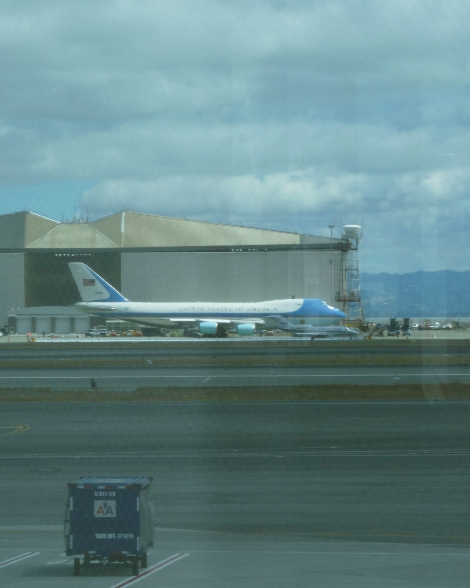 Air Force One, SFO, President Obama, Fundraising Trip, Plane Spotting