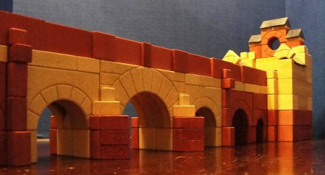 Bridge, Ankerstein, Arches, Building Blocks