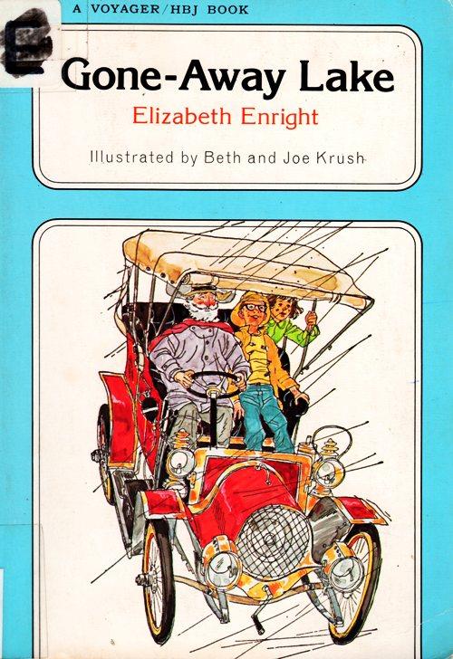 Gone-Away Lake, Elizabeth Enright, Newbery Honor Book,  Beth and Joe Krush