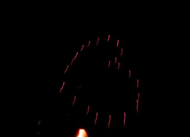 Heart Shaped Fireworks, Red Heart, Fireworks, 2014 Fireworks, Tracy Fireworks